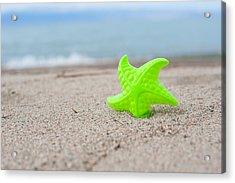 Lonely Starfish  Acrylic Print by Sofia Walker