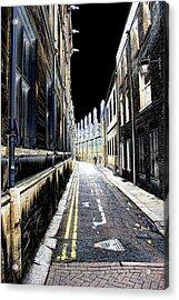 Lonely Street Acrylic Print by Oscar Alvarez Jr