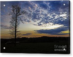 Lonely Sunset Acrylic Print