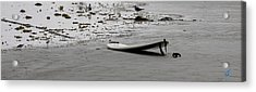 Acrylic Print featuring the photograph Lonely Surfboard by Chris Thomas