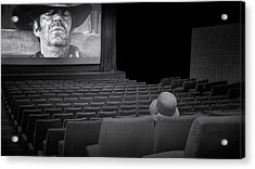 Lonely...at The Movies... Acrylic Print