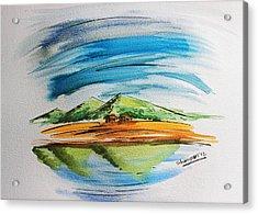 Lonesome Valley Acrylic Print by Shakhenabat Kasana