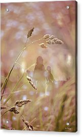 Acrylic Print featuring the photograph Long Ago ... by Chris Armytage