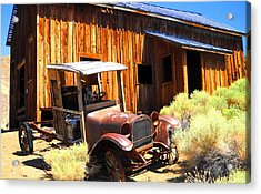 Acrylic Print featuring the photograph Long Ago by Marilyn Diaz