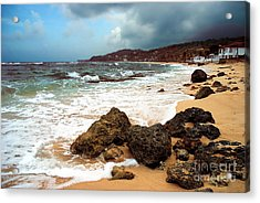 Long Bay - A Place To Remember Acrylic Print by Hannes Cmarits