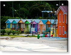 Long Bay Beach Shops Acrylic Print