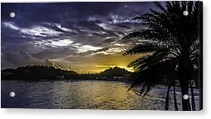 Long Bay Sunrise 1 Acrylic Print