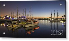 Long Beach Acrylic Print