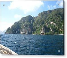 Long Boat Tour - Phi Phi Island - 011312 Acrylic Print by DC Photographer