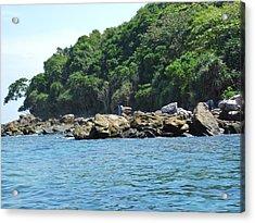 Long Boat Tour - Phi Phi Island - 0113199 Acrylic Print by DC Photographer