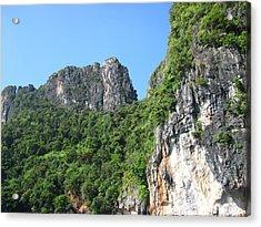 Long Boat Tour - Phi Phi Island - 011365 Acrylic Print