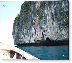 Long Boat Tour - Phi Phi Island - 011391 Acrylic Print by DC Photographer