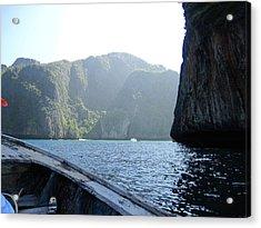 Long Boat Tour - Phi Phi Island - 011394 Acrylic Print by DC Photographer