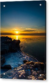 Long Cold Winter II Acrylic Print by James  Meyer