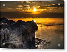 Long Cold Winter Acrylic Print by James  Meyer