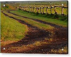 Long Dirt Road Acrylic Print