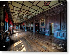 Long Gallery Acrylic Print by Adrian Evans