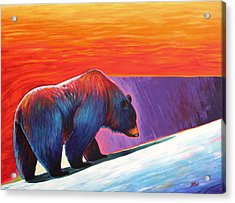 Long Journey Acrylic Print by Joe  Triano