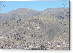 Long Live Peru Acrylic Print