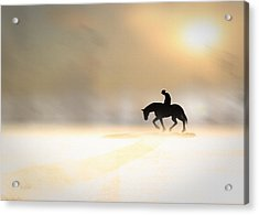 Long Ride Home Acrylic Print by Bob Orsillo