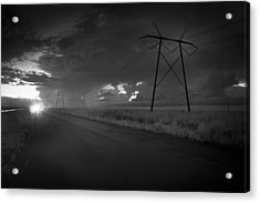 Acrylic Print featuring the photograph Long Road Home by Bradley R Youngberg