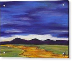Long Road Home Acrylic Print by Dana Strotheide