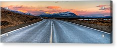 Long Road Acrylic Print by Roman St