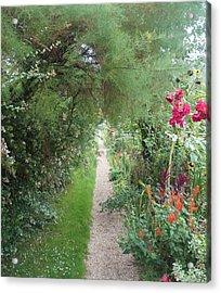 Long Way  Acrylic Print by Kristine Bogdanovich