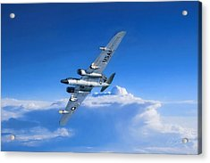 Long Wing Weather Recon Acrylic Print