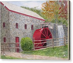 Longfellow's Gristmill Acrylic Print