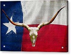 Longhorn Of Texas 2 Acrylic Print