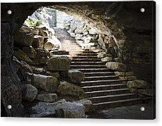 Longhorn Stairs Acrylic Print