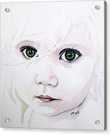 Longing Eyes Acrylic Print