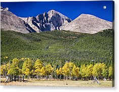 Longs Peak A Colorado Playground Acrylic Print