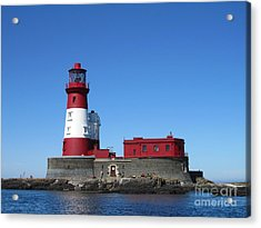 Longstone Lighthouse Acrylic Print