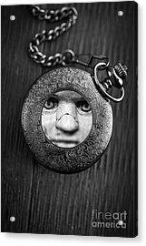 Look Behind You Acrylic Print by Edward Fielding