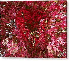 Look Deep Into My Heart Acrylic Print