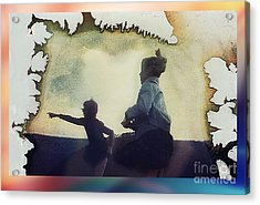 Look Acrylic Print by Hartmut Jager