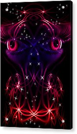 Look Into My Eyes Acrylic Print by Nathan Wright