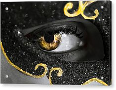 Look Into My Eyes... Acrylic Print by Sotiris Filippou
