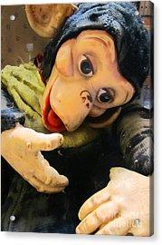 Look Ma No Thumbs Acrylic Print by Kym Backland