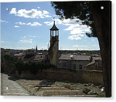 Look Out Tower On The Approach To Beaucaire Castle Acrylic Print