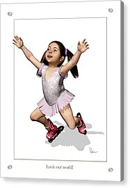 Look Out World Acrylic Print