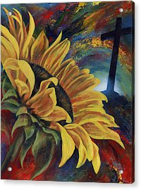 Look To The Son Acrylic Print by Don Michael Jr