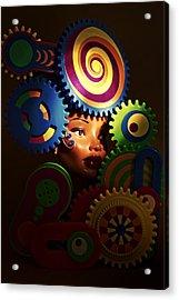 Looker Acrylic Print by Jeff  Gettis