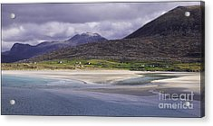 Looking Across Seilebost Bay No2 Acrylic Print by George Hodlin