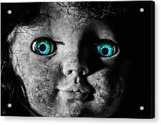 Looking At You Kid Acrylic Print by JC Findley