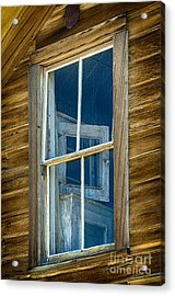 Looking Back In Time Acrylic Print by Sandra Bronstein