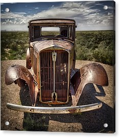 Looking Back On Route 66 Acrylic Print