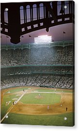 Brillant Yankee Stadium Acrylic Print by Retro Images Archive